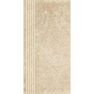Paradyz Flash 30x60 cm bianco matný RN300X6001FLASBISPM Schodisková dlažba