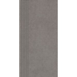 Paradyz Intero 29,8x59,8 cm grys matný QN298X5981INTEGRSPM Schodisková dlažba