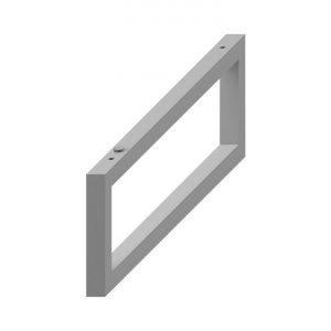 Jika Cubito-N Podpera pod dosky na mieru 420x140 mm, biela matná 4.7J00.4.000.000.1 (H47J0040000001)