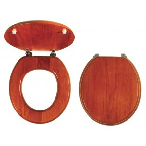 Novaservis WC dosky - Prestige Dub lyra masívne drevo WC/DUBLYRA