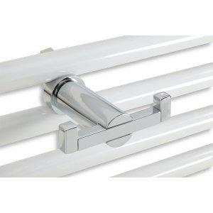 Novaservis Metalia Dvojháčik na otopný rebrík 90x68mm, chróm 6256/1.0