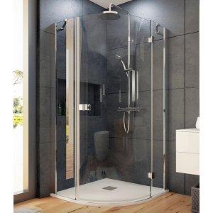Aquatek SMARTS5 Sprchový kout obloukový s jedněmi otevíracími dveřmi S5