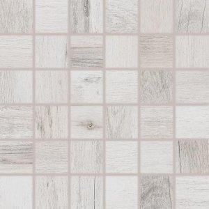 RAKO Saloon mozaika set 30x30 cm bielo-sivá 5x5 DDM06745