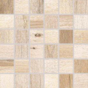 RAKO Saloon mozaika set 30x30 cm svetlá hnedá 5x5 DDM06747