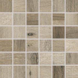 RAKO Saloon mozaika set 30x30 cm tmavá hnedá 5x5 DDM06748