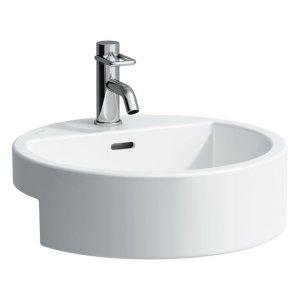 Laufen LIVING CITY  Polozápustné umývadlo  46 × 46 cm, 46 cm, biela, rôzne prevedenia