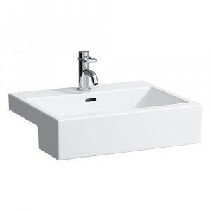 Laufen LIVING CITY  Polozápustné umývadlo  55 × 46 cm, biela, rôzne prevedenia