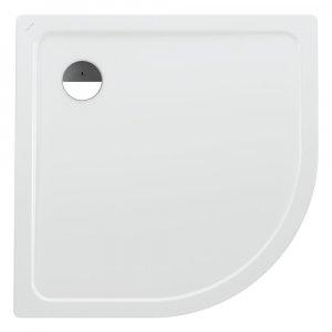 Laufen PLATINA  Sprchová vanička štvrťkruhová biela, rôzne prevedenia