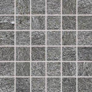 RAKO Quarzit mozaika tmavá sivá 5x5 DDM06738