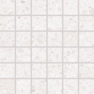 RAKO Porfido mozaika set 30x30 cm biela 5x5 DDM06810