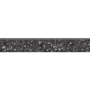 RAKO Porfido sokel čierna 60x9,5 DSAS4812