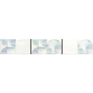 RAKO Retro dekor zeleno-modrá 20x40 WITMB523