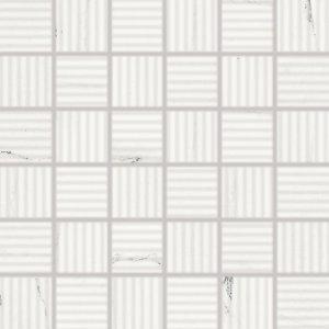 RAKO Vein mozaika set 30x30 cm biela 5x5