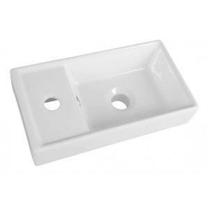 Sapho Keramické umývadlo 40x22x8cm DD4022