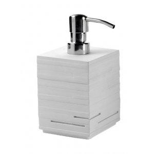 Sapho QUADROTTO Dávkovač mydla na postavenie rôzne prevedenia, 430 ml
