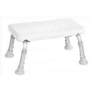 Sapho Kúpeľňová stolička na nohy biela A0102601