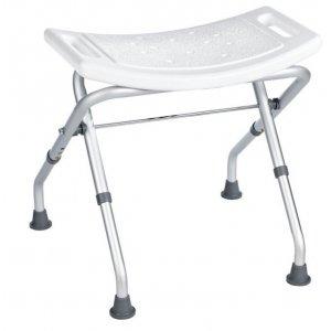 Sapho Kúpeľňová stolička, sklopná biela A0050301