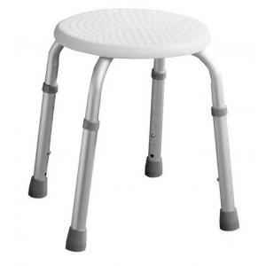 Sapho Sedátko kúpeľňové priemer 32cm biela A00603101
