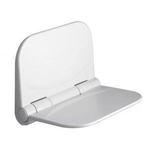 Sapho Kúpeľňové sedátko 37,5x29,5cm, biela DI82