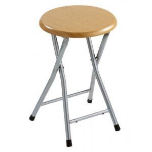 Sapho Kúpeľňová stolička 29,8x46 cm, dekor drevo CO73
