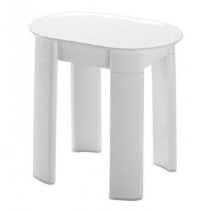Sapho Kúpeľňová stolička 42x41x27 cm, biely 2872
