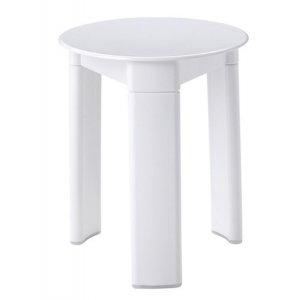 Sapho Kúpeľňová stolička 33x40 cm, biely 2072