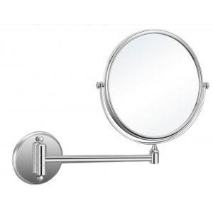 Sapho SAMBA Kozmetické zrkadielko bez osvetlenia, závesné 200mm, chróm HY1408