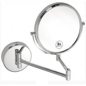Sapho X-ROUND Závesné kozmetické zrkadielko 200mm, chróm XR006