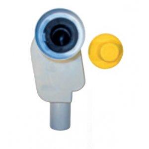 Jika Mio Podomietkový umývadlový sifón vhodný pre zdravotné umývadlo Mio H813714 H8939050000001 (H8939050000001)