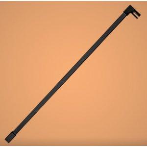 Aquatek OASIS Rozperná tyčka rovná hranatá, čierna T4 OASIST4BLACK120