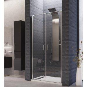Aquatek YES Čelná stena s dvomi otváracími dverami B2