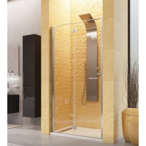 Aquatek YES Čelná stena s lámavými otváracími dverami B8