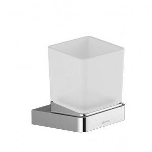 Ravak 10° Držiak s pohárikom chróm, sklo TD 210.00 X07P321