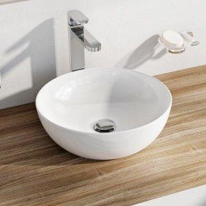 Ravak Uni Slim Umývadlo B biela, 400 x 400 x 125 mm XJX01140003