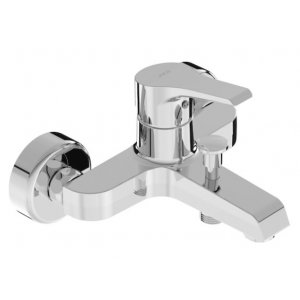 Jika Cube Vaňová nástenná páková batéria bez sprchovej sady chróm H3211W70044001 (H3211W70044001)