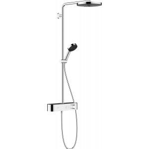 HANSGROHE Pulsify  Showerpipe 260 1jet s termostatem ShowerTablet Select 400 rôzne prevedenia