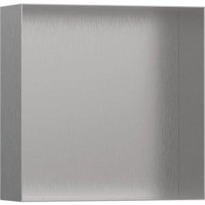 HANSGROHE XtraStoris Minimalistic Výklenok do steny bez rámu 30x30 cm rôzne rozmery a farby